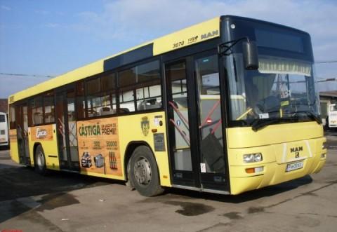 Şofer al TCE Ploieşti, prins în timp ce fura motorină dintr-un autobuz
