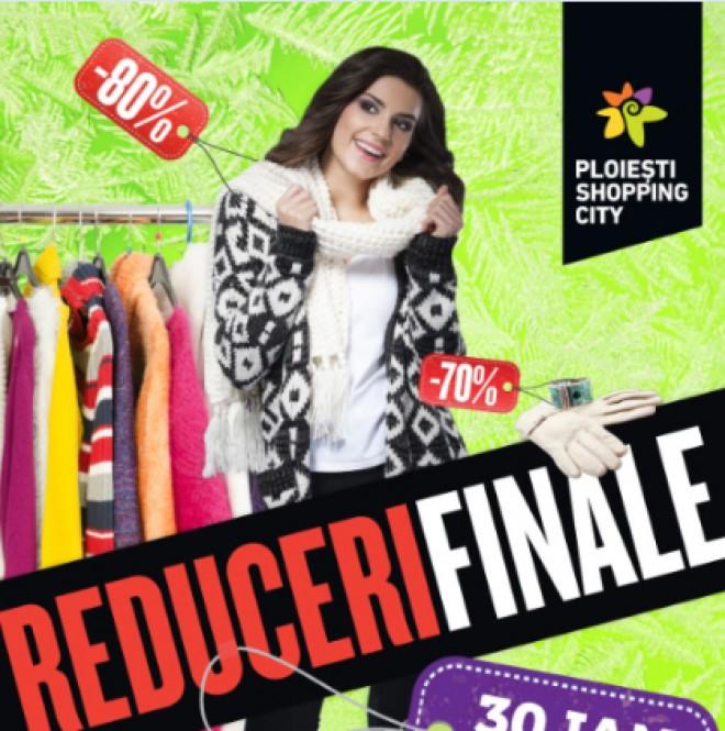 REDUCERI FINALE la Ploieşti Shopping City, în acest weekend