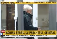 Adrian Sârbu, adus cu mandat la Parchetul General