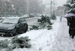 COD GALBEN de ninsori şi viscol, inclusiv în Prahova. HARTA zonelor afectate