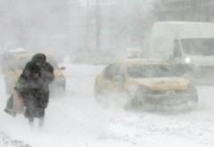 Informare ANM de VREME REA, in Prahova: DUMINICĂ - ninsori, vânt şi ger