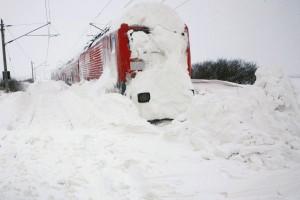 Lista trenurilor ANULATE din cauza condiţiilor meteo