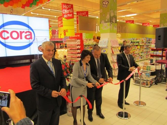 Hipermarketul CORA, AMENDAT de OPC Prahova