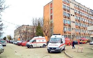 SCANDAL la Spitalul Județean. A fost nevoie de intervenția Poliției