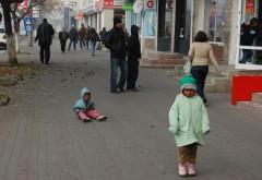 Cerșetorii minori, adunați de pe străzile din Ploiești și duși la Centrul Cireșarii