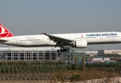 ALERTĂ CU BOMBĂ la bordul unui avion Turkish Airlines. Mesajul găsit în toaleta aeronavei
