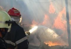Incendiu PUTERNIC în Valea Călugărească