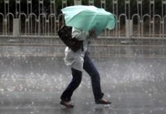 INFORMARE ANM de vreme rea: Ploi abundente, ninsori la munte şi vânt puternic