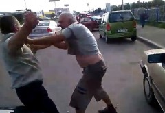 Barbat luat la bataie de un sofer nervos, in Baicoi. Motivul?