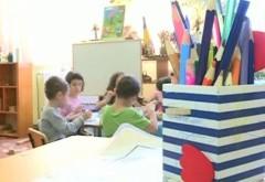 Reînscrierea în învăţământul preşcolar, pentru copiii deja înmatriculaţi, începe luni