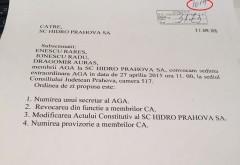 SCANDAL la Hidro Prahova intre PNL si PLR. Se cere DEMITEREA Consiliului de Administratie