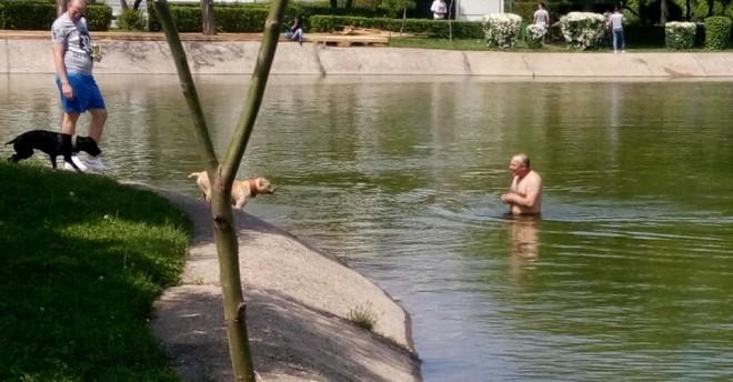 Alo, autoritatile! Amendam si noi meltenii care isi lasa jegul in lacul de la Sala Sporturilor?