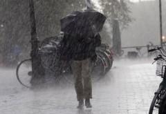 ALERTĂ METEO. Ploi torenţiale şi grindină în toată ţara