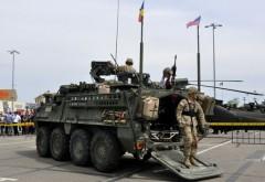 REPORTAJ/ Demonstratii militare, in Ploiesti. GALERIE FOTO cu americanii sositi in Romania