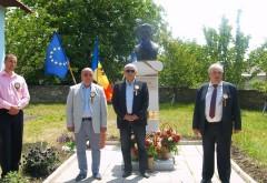 Constantin Stere, omagiat in Republica Moldova, in prezenta delegatiei CJ Prahova. Mircea Cosma a donat carti elevilor din Soroca