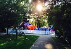 Loc nou de distracţii pentru copii, în Parcul Bucov FOTO