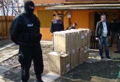 Percheziţii la contrabandiştii de ţigări aduse din Republica Moldova