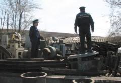 Centru de fier vechi din Ploiești, AMENDAT pentru că a colectat produse furate