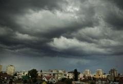 COD GALBEN de furtuni şi grindină în Prahova