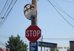 În 25 de intersecţii din Ploieşti vor fi montate oglinzi rutiere. Lista străzilor