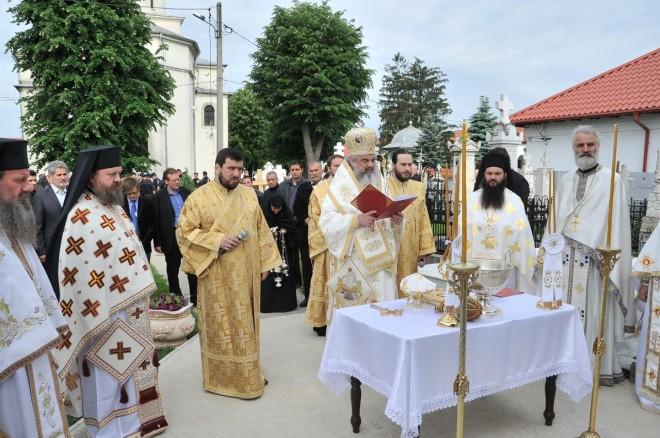 Patriarhul Daniel a fost la Mănăstirea Ghighiu