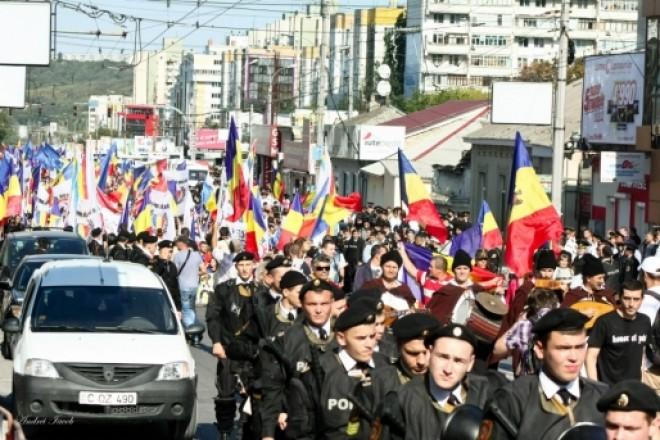 MOBILIZARE: Marea Adunare Națională pentru UNIREA cu Romania, la Chişinău