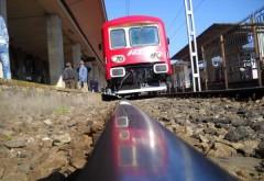 COD ROȘU DE CANICULĂ. Trenurile circulă cu restricţii de viteză și au întârzieri