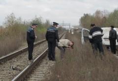 TRAGIC. Bărbat călcat de tren la Câmpina