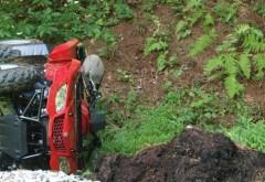 Misiune de salvare în Bucegi: Un american s-a prăbuşit cu ATV-ul