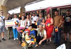Prahova iubeste Basarabia! Intalnire emotionanta intre ploiesteni si tinerii din R. Moldova, in Gara de Sud GALERIE FOTO