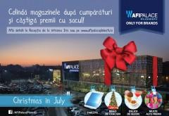 AFI Palace Ploiești aduce Crăciunul în mijlocul verii