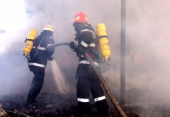 Explozie și incendiu intr-o comuna din Prahova