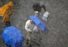 Informare meteo: Încă două zile de ploi torenţiale în toată ţara
