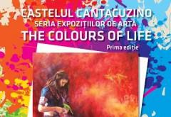 """Expoziţia """"The Colours of Life"""" la Castelul Cantacuzino din Buşteni"""