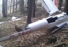 Epava planorului PRĂBUŞIT în august şi cadavrul pilotului, descoperite lângă Braşov