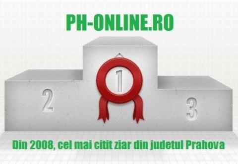 Ph-online.ro, continua pe LOCUL 1 in topul presei locale, dupa numarul de AFISARI si CITITORI UNICI