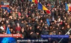 LIVE VIDEO. Protest impresionant la Chisinau
