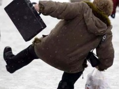 Câţi prahoveni au ajuns la urgenţe după ce au alunecat pe gheaţă