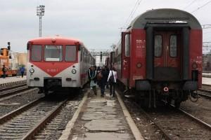 CFR a anulat, vineri, 14 trenuri din cauza gerului