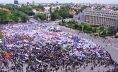Bucureştiul va fi ocupat duminică: Zeci de mii de oameni ies în stradă