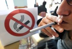 Legea care interzice FUMATUL în spaţii publice închise, dezbătută la CCR