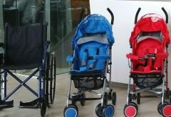 Afi Palace Ploiesti a fost dotat cu cărucioare pentru copii şi persoane cu dizabilităţi