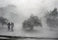 Vremea rea se întoarce: NINSORI VISCOLITE şi VÂNT PUTERNIC