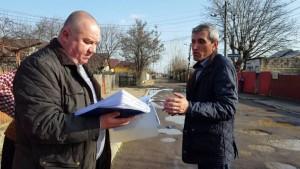 Primarul Cristian Ganea a mers în cartierul Pictor Rosenthal pentru a rezolva problemele oamenilor de acolo VIDEO