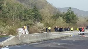Ce spune ISU Prahova despre accidentul cu autocisterna de pe DN1