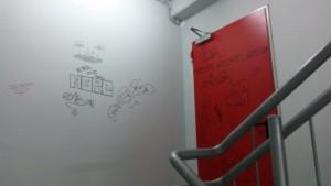 Parcarea etajata de 3 milioane de euro de pe Cuza Voda a fost vandalizata