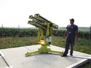 Rachetele antigrindină de la Ploiești vor salva culturile din UE