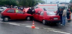 Accident rutier la Câmpina