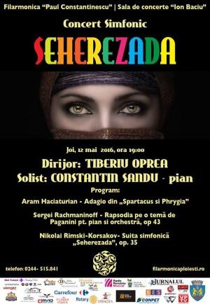 """""""Sheherezada"""" la Filarmonica """"Paul Constantinescu"""""""