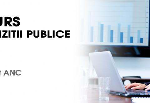 Curs Expert ACHIZITII PUBLICE, la Ploiesti. Cum poti participa